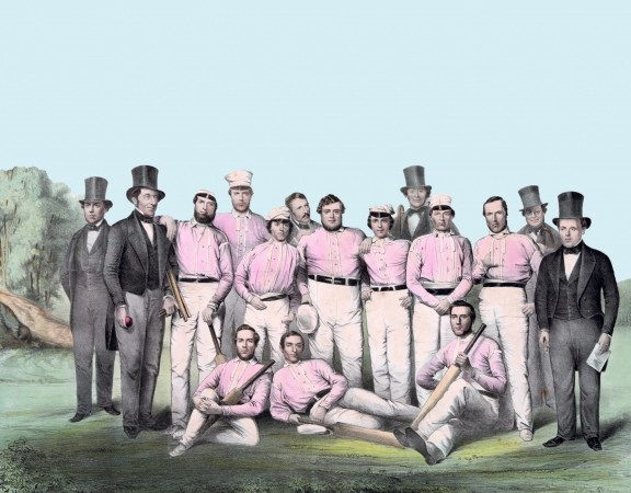 vintage-cricket-team