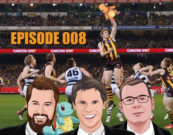 Ep 008 - Loaded with NRL, AFL, Super Rugby and Pokemon Go!