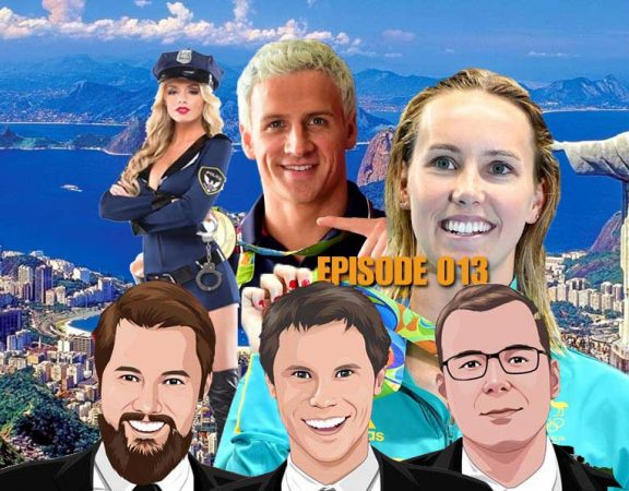 Ep 013 - Olympic Fallout, Fake Police and Slaters Perfect 20