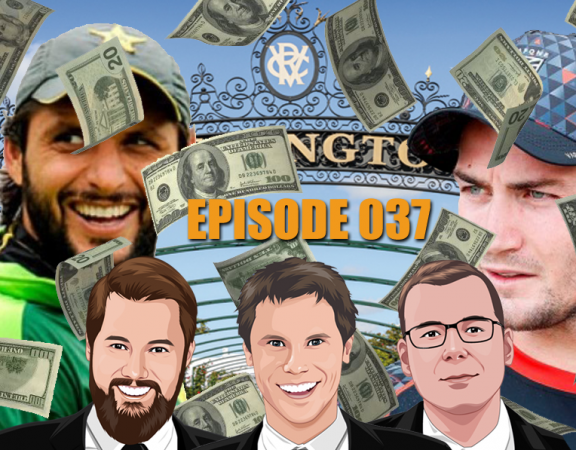 Ep 037 - Free Money Winners, Dodgy Cricket and Dodgy NRL Dealings