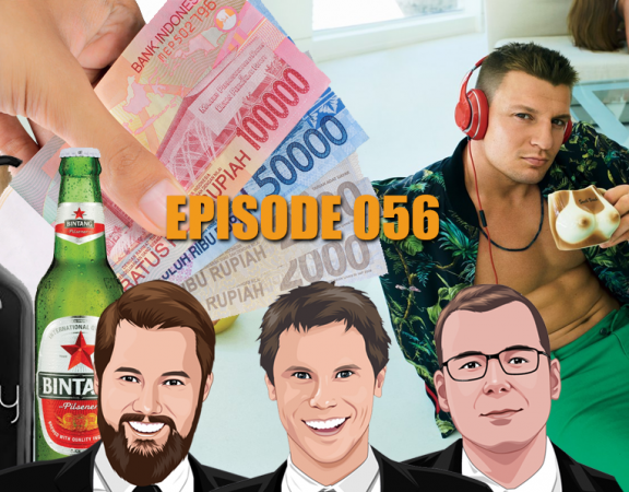 Ep 056 - Free Flow Cocktails Free Flow Winners and A Free Flow Massage
