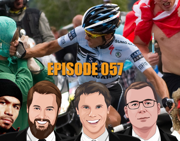 Ep 057 - Huge Tour de France Preview, AFL, NRL, Boxing, Wimbledon and MORE
