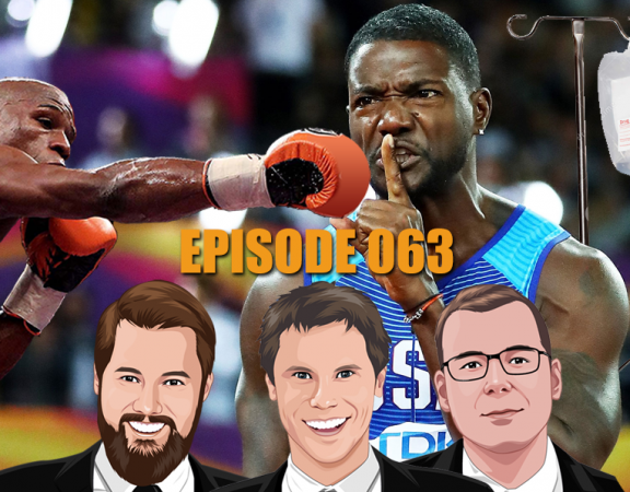 Ep 063 - When Convicted Drug Cheats Roll Your Bet Of The Week
