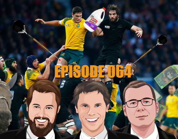 Ep 064 - We're Watching Mayweather, McGregor, Winx, NRL, AFL and Household Bleach