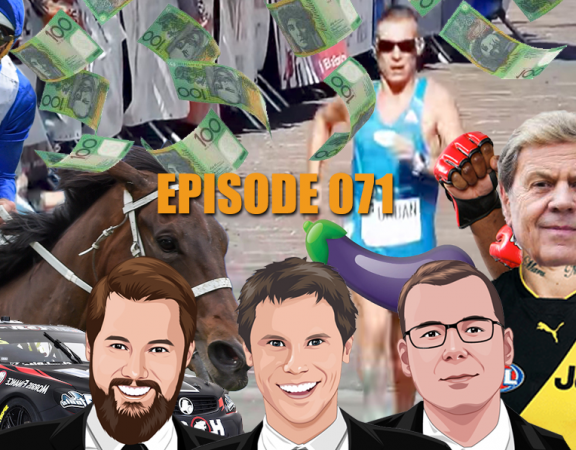 Ep 071 - Just a Quiet Week On The Punt With G1 Racing, UFC, Surfing And More